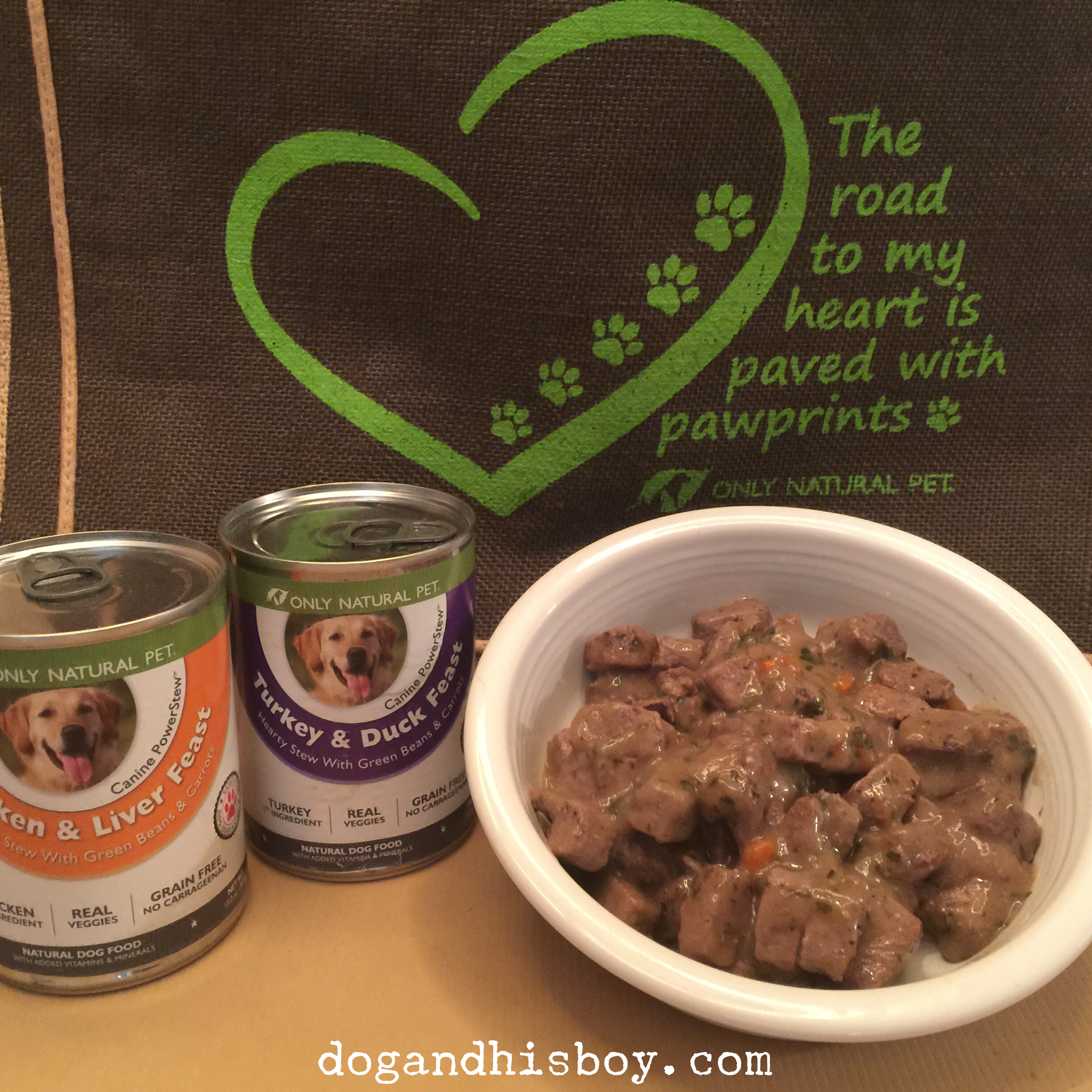 Deaf Dogs love #PawNatural goodness from Only Natural Pet!
