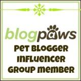 BlogPaws Pet Blogger Influencer Group Member