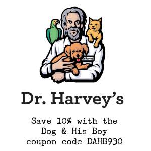 Edison the Deaf Dog Coupon Code September 2015 for Dr. Harvey's