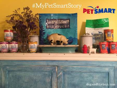 This post is sponsored by PetSmart®, and the BlogPaws Professional Pet Blogger Network. I am being compensated for helping spread the word the word about the launch of Natural Balance® products at PetSmart, but Dog & His Boy only shares information we feel is relevant to our readers. PetSmart is not responsible for the content of this article.