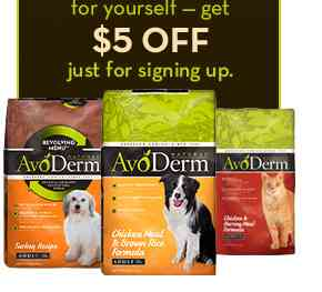 AvoDerm Revolving Menu Dog Food